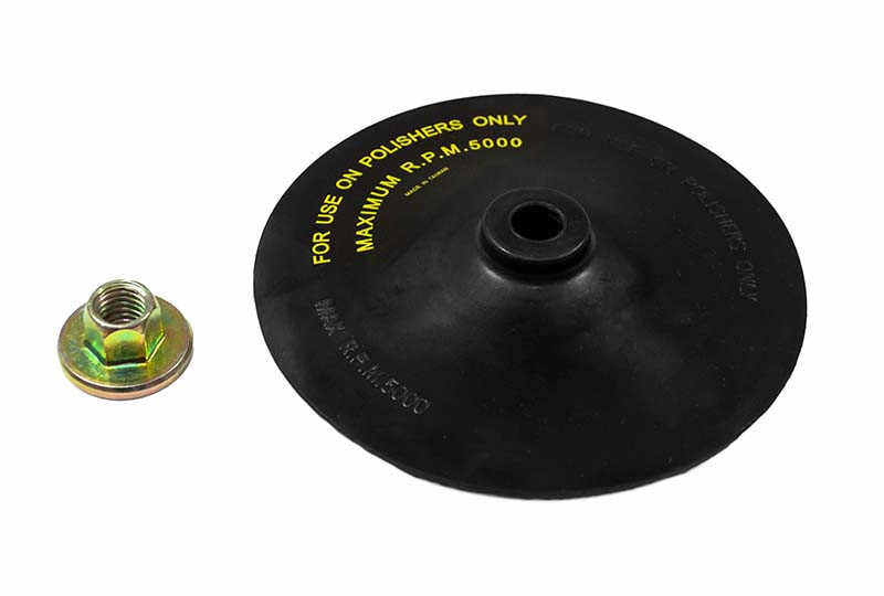 "7"" Easy-Change Flexible Backing Pad W/Pad Nut"